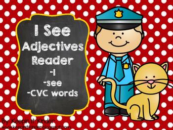 I See Adjectives reader