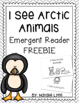 I See Arctic Animals Emergent Reader FREEBIE