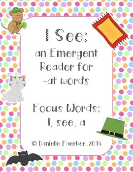 I See -At Family Emergent Reader