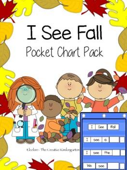 I See Fall {Pocket Chart Pack}