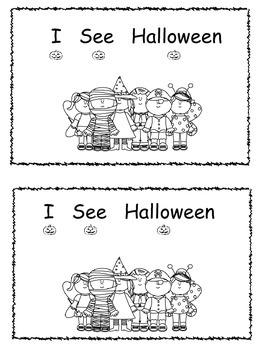 I See Halloween Book