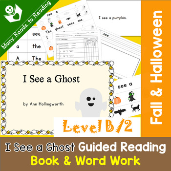 Halloween Guided Reading Book COMPLETE SET, Level B/2: I S