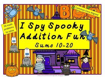 I Spy Addition Fun! (Common Core Aligned)