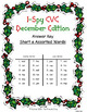 I-Spy CVC Match-Up - Short /a/ Assorted Words (December Edition)
