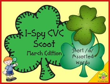 I-Spy CVC Scoot - Short /a/ Assorted Words (March Edition)