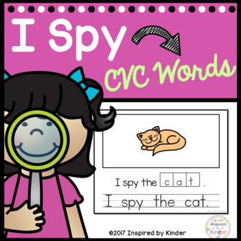 I Spy CVC Words-An Emergent Writing Game and Journal