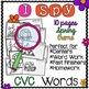 I Spy CVC Words! {Spy, Read, Write} {Spring Edition}