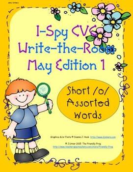I-Spy CVC Tiny Words - Short /o/ Assorted Words (May Editi