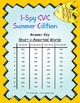 I-Spy CVC Tiny Words - Short /o/ Assorted Words (Summer Ed