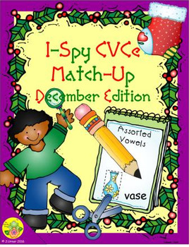 I-Spy CVCe Match-Up - Assorted Vowels (Decemer Edition)