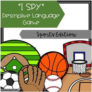 """I Spy"" Descriptive Language Game - Sports Edition"