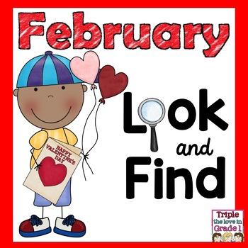 I Spy  February Edition (February Words & Sight Words)