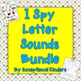 I Spy Find the Picture Letter Sounds Bundle {Differentiate