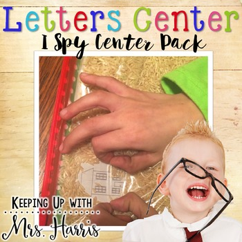 I Spy Letters - Sensory Bags for Learning Stations