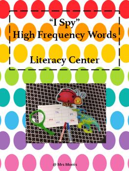 I Spy Literacy Center