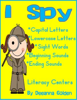 I Spy Literacy Centers