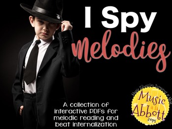 I Spy Melodies {A Bundled Set of Games for  Reading and Be