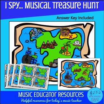 (I Spy...) Musical Treasure Hunt Sing Play Create