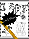 I Spy: School Version
