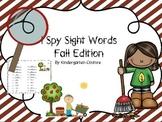 I See Tiny Sight Words - Fall Edition