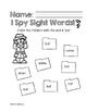 I Spy Sight Words: Primer List