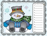 I Spy Sight Words Snowman