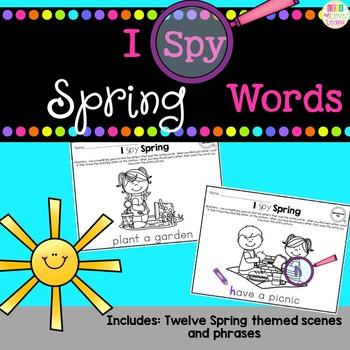 I Spy - Spring Words
