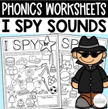 I Spy Super Sounds (Supplemental Phonics Practice)