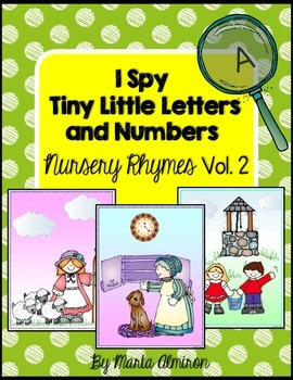 I Spy Tiny Little Letters and Numbers - Nursery Rhymes Vol. Two