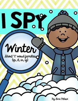 Short I Literacy Station: I Spy