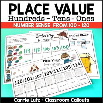 Numeracy Activities 100 - 120