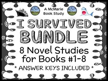 I Survived BUNDLE (Lauren Tarshis) Novel Studies / Compreh
