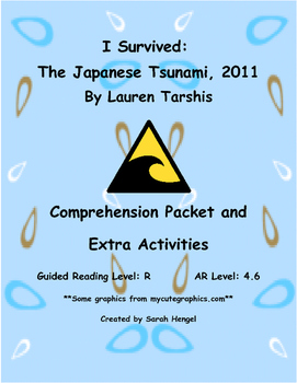 I Survived: The Japanese Tsunami, 2011 by Lauren Tarshis C