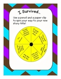 """I Survived"" Writing Graph"