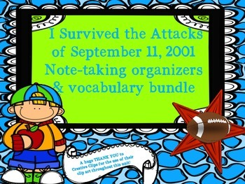 I Survived the Attacks of September 11, 2001 - Note-taking