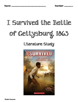 I Survived the Battle of Gettysburg, 1863