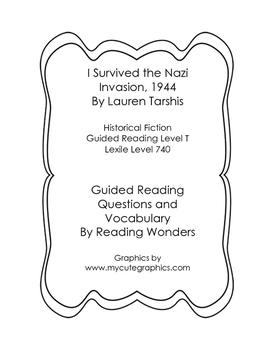 I Survived the Nazi Invasion, 1944 Book Club