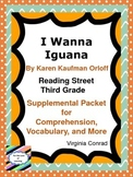 I Wanna Iguana---Reading Street--Supplemental Packet