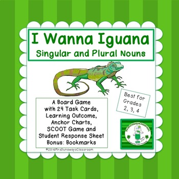 I Wanna Iguana:  Singular and Plural Nouns