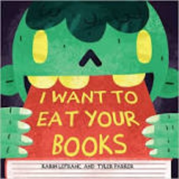I Want To Eat Your Books (Book Trailer)