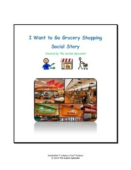 I Want to Go Grocery Shopping Autism Social Story