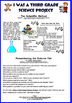 I Was A Third Grade Science Project by Mary Jane Auch, Gre