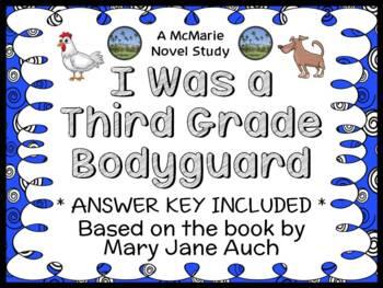 I Was a Third Grade Bodyguard (Mary Jane Auch) Novel Study