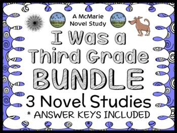 I Was a Third Grade Bundle (Mary Jane Auch) 3 Novel Studie