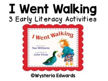 I Went Walking! 3 Emergent Literacy Activities