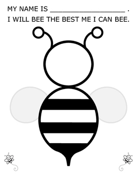 I Will Bee the Best Me I Can Bee
