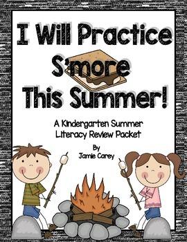 I Will Practice S'more This Summer--A Kindergarten Summer