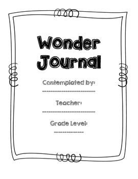 I Wonder Journal - Intermediate
