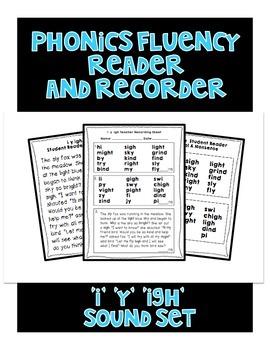 I Y IGH - Phonics Fluency Assessment