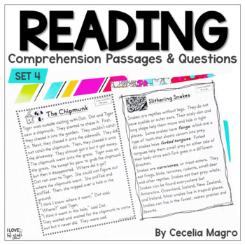 I am Reading! #4  Fiction and Non Fiction Texts - First Grade